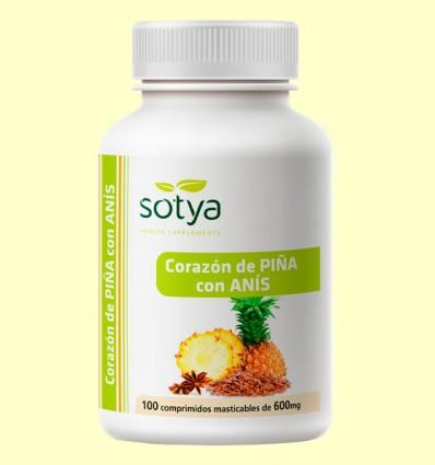 Corazón de Piña con Anís - Sotya - 100 comprimidos