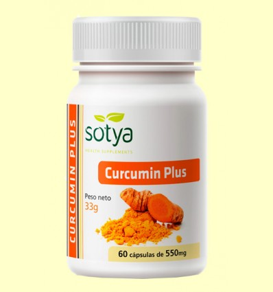 Curcumin Plus - Sotya - 60 cápsulas