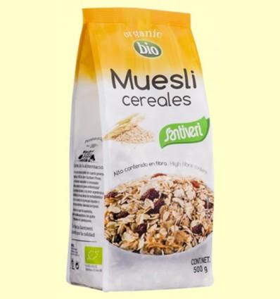 Muesli Cereales Bio - Santiveri - 500 gramos