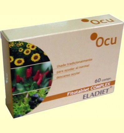 Ocu Fitotablet Complex - Salud Ocular - Eladiet - 60 comprimidos