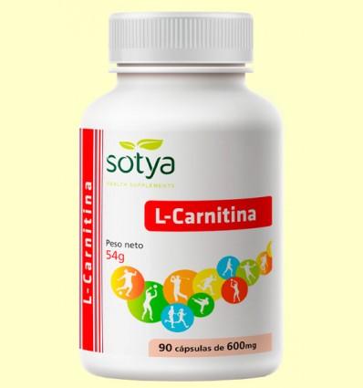 L-Carnitina - Sotya - 90 capsulas