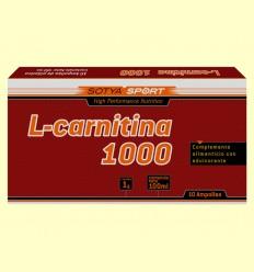 L-Carnitina 1000 mg - Sotya - 10 ampollas