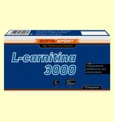 L-Carnitina 3000 mg - Sotya - 10 ampollas