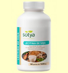 Lecitina de Soja 1600 mg - Sotya - 90 perlas