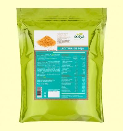 Lecitina de Soja granulada - Sotya - 800 gramos