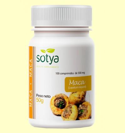 Maca 500 mg - Sotya - 100 comprimidos