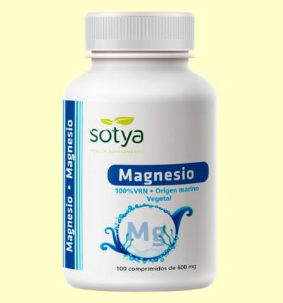 Magnesio de origen marino - Sotya - 100 comprimidos