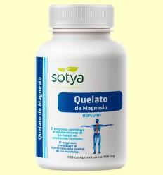 Quelato de Magnesio - Sotya - 100 comprimidos