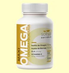 Maxi Omega Onagra y Borraja - Sotya - 110 perlas