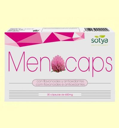 Menocaps - Menopausia - Sotya - 30 cápsulas