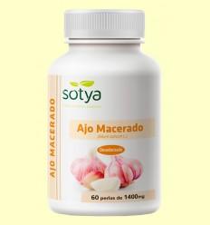Ajo Macerado 1400 mg - Sotya - 60 perlas
