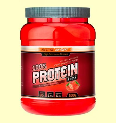 Proteína de Soja 100% Fresa - Sotya Sport - 500 gramos