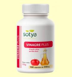 Vinagre Plus - Vinagre de Manzana - Sotya - 100 cápsulas
