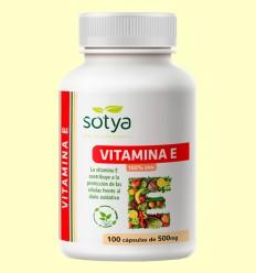 Vitamina E - Sotya - 100 cápsulas