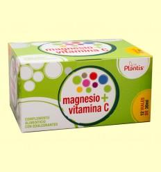 Magnesio Vitamina C - Plantis - 12 viales