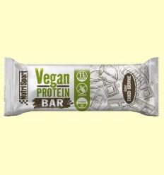 Vegan Protein Bar sabor Choco Brownie - NutriSport - 12 barritas