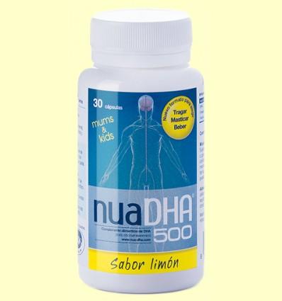 NuaDHA 500 mg sabor Limón - Nua - 30 cápsulas