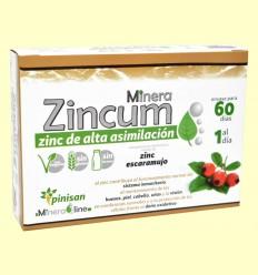 Minera Zincum - Pinisan - 60 cápsulas