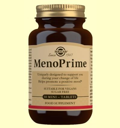 MenoPrime - Solgar - 30 mini comprimidos