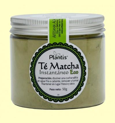 Té Matcha Instantáneo Eco - Plantis - 50 gramos