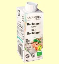 Bechamel de Arroz Bio - Amandin - 200 ml