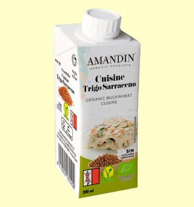 Cuisine de Trigo Sarraceno Bio - Amandin - 200 ml