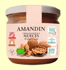 Crema Ecológica de Nueces - Amandin - 330 gramos