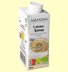 Cuisine de Arroz Bio - Amandin - 200 ml