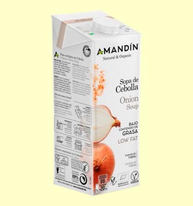 Sopa de Cebolla Bio - Amandin - 1 litro