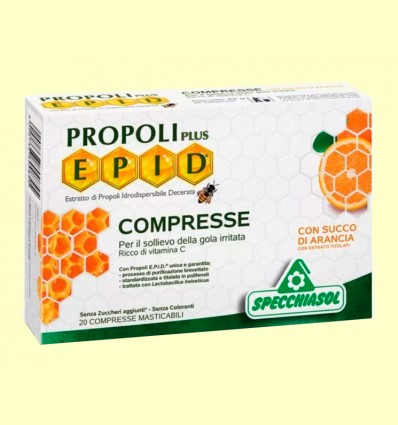 Epid Propoli Plus Naranja - Specchiasol - 20 comprimidos