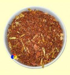 Rooibush aromatizado Manzana & Caramelo - El Mundo del Té - 100 gramos