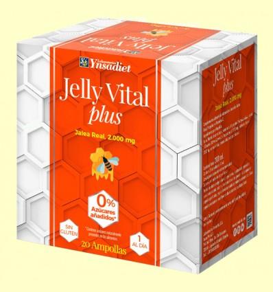 Jalea Real Jelly Vital Plus - Ynsadiet - 20 ampollas