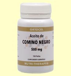Aceite de Comino Negro - Ortocel - 100 Perlas