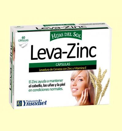 Leva Zinc - Cabello, Uñas y Piel - Ynsadiet - 60 cápsulas
