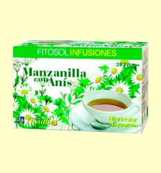 Manzanilla con Anís - Digestivo - Ynsadiet - 20 filtros