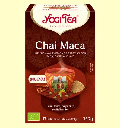 Chai Maca Bio - Yogi Tea - 17 infusiones