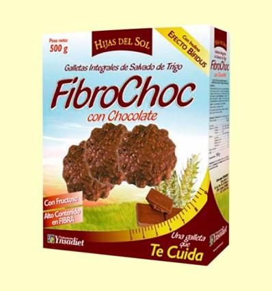 Fibrochoc - galletas integrales - Hijas del Sol - 500 gramos