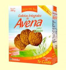 Galletas Integrales de Avena Sabor Limón - Hijas del Sol - 500 gramos