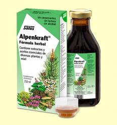 Alpenkraft Jarabe herbal - Salus - 250 ml
