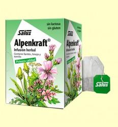 Infusión Alpenkraft - Salus - 15 bolsitas filtro