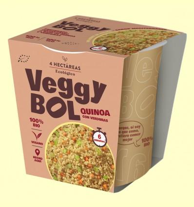 Veggybol Quinoa Bio - 4 Hectáreas - 55 gramos