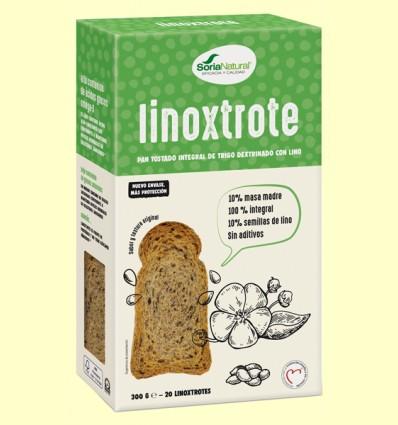 Linoxtrote - Tostadas con Semillas de Lino - Soria Natural - 300 gramos