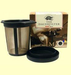 Tee Dauerfilter - Filtro para preparar té M - Teeli - 65 - 95 mm