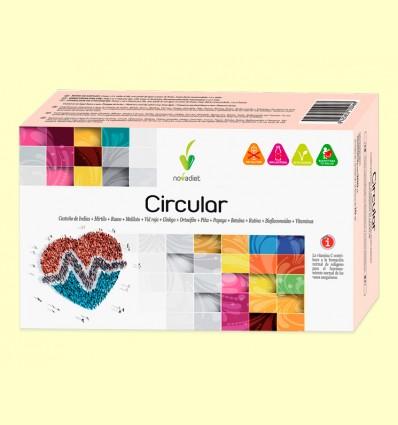 Circular - Vasos Sanguíneos - Novadiet - 20 viales