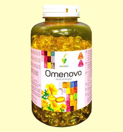 Omenova - Aceite de Onagra - Novadiet - 400 cápsulas