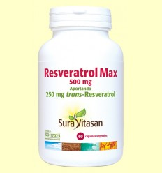 Resveratrol Max - Sura Vitasan - 60 cápsulas