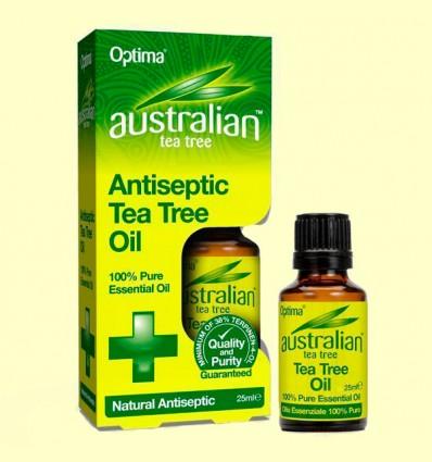 Aceite del Árbol del Té - Antiseptic Tea Tree - Optima - 25 ml