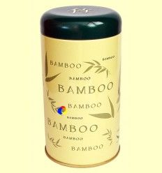 Lata para guardar Té - Bamboo Verde Claro