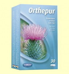 Orthepur - Depurador hepático - Orthonat - 30 cápsulas
