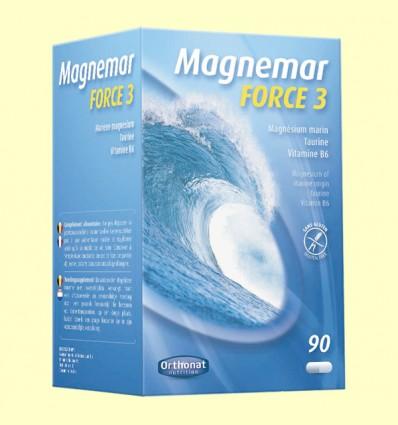 Magnemar Force 3 - Orthonat - 90 cápsulas de gelatina